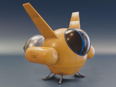 Dragon Ball air craft