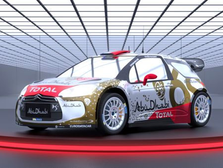 Citroen DS3 World Rally Championship - 60th anniversary