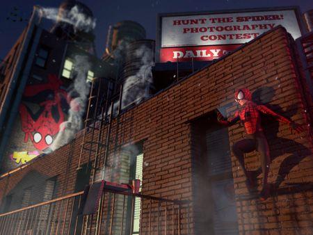 Take a break, Spider-Man!
