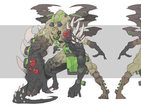 Monster Challenge : Dr. Craptor