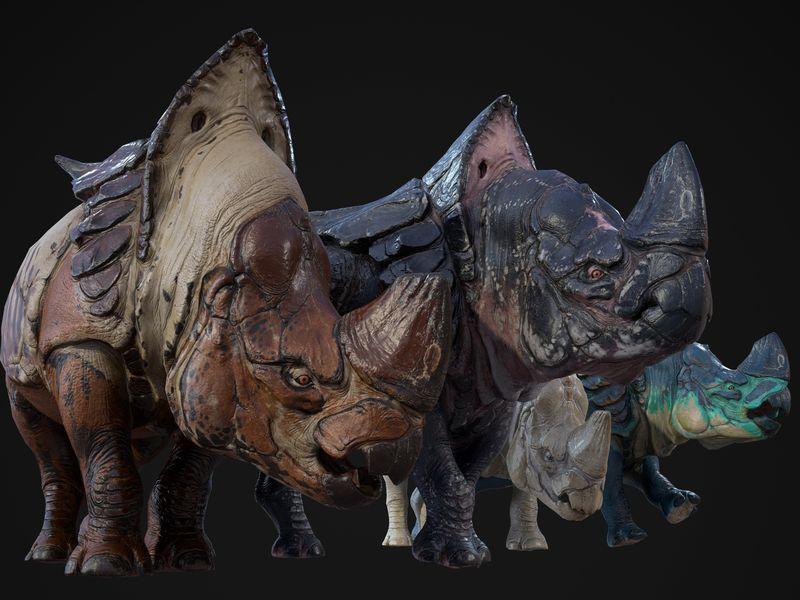 Alien Rhinoceros