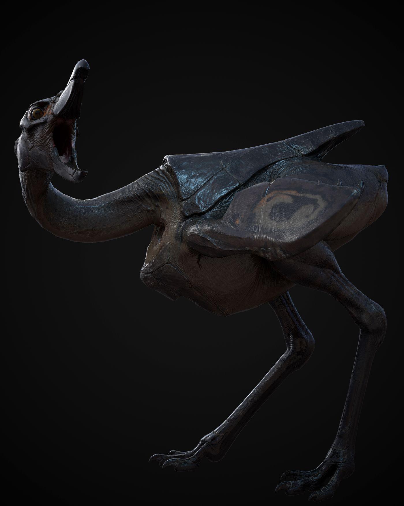 Big Bird Mel3 Fleshninja