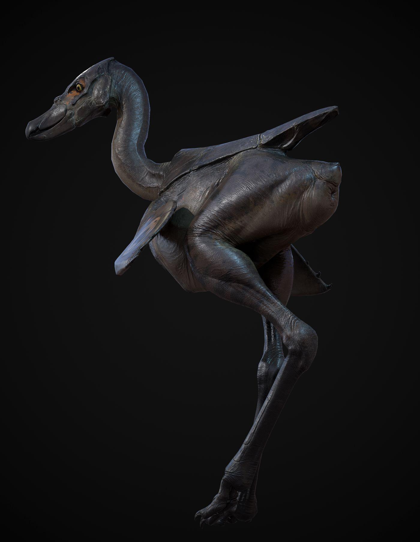 Big Bird Mel1 Fleshninja