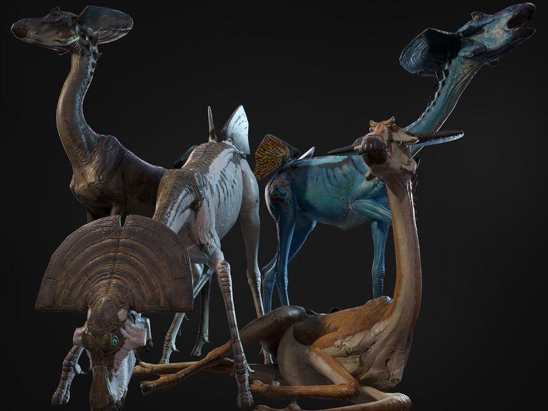Alien Antelope