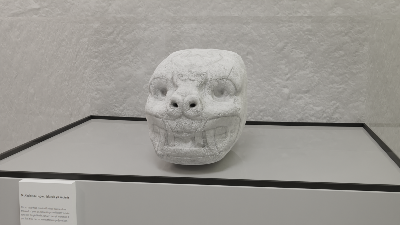 Museum Render Realistic Fmegas