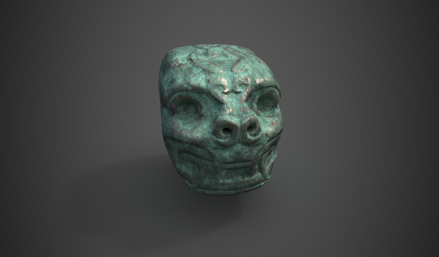 Head Realistic Bronze Fmegas