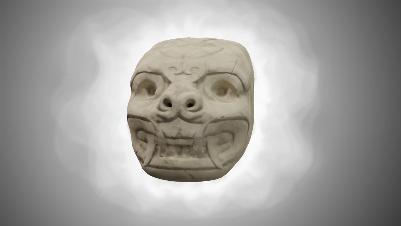 Head Stylized White Posted Fmegas