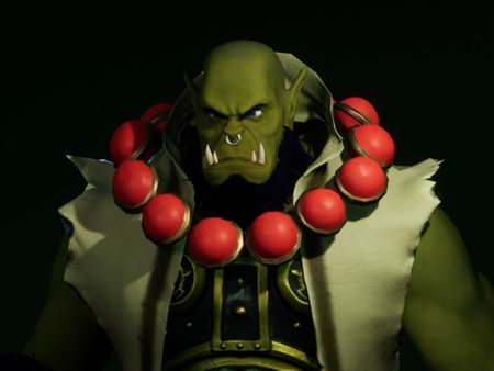 Thrall fanart game character