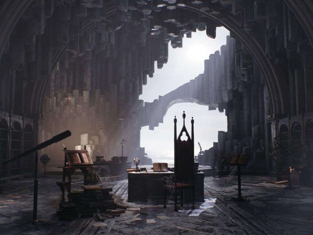 Artstation Challenge: The Legend of King Arthur | Merlin's Cave