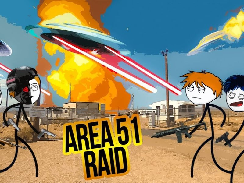 When a gamer breaks into Area 51