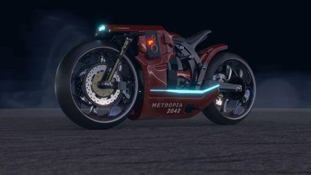 Metropia Motorcycle