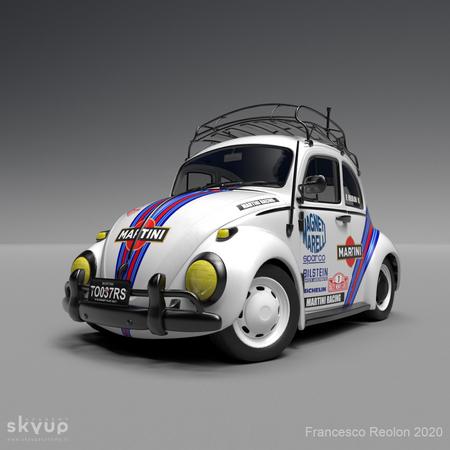 Martini Racing VW Beetle