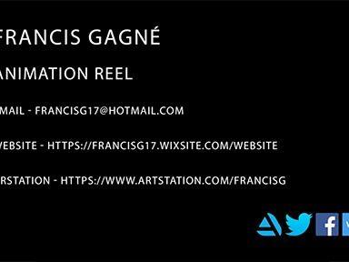 Francis Gagné - Animation reel 2018 - 2019