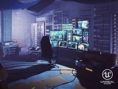 Hacker Room - UE4