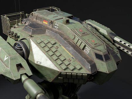 Modern Combat Walker (Mech)