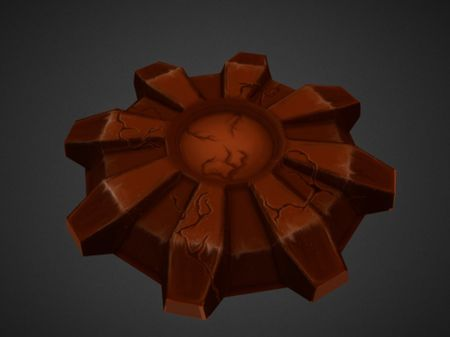 Hand-painted 3d assets