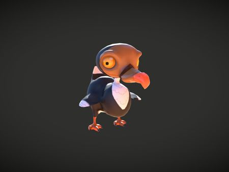 Stylised 3D character art