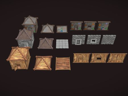 Inspired Stylised Assets