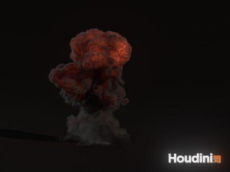 Gasoline explosion Houdini