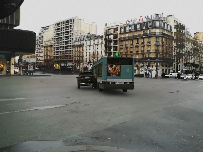 Bus Crash in Paris