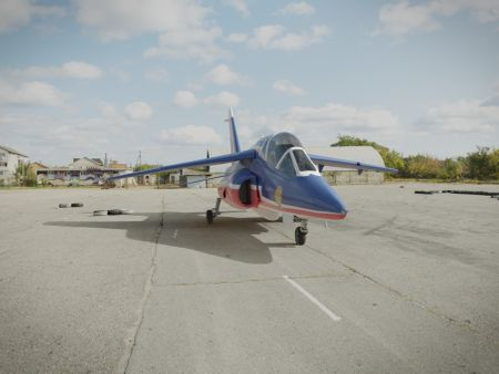 Alpha Jet from de Patrouille de France