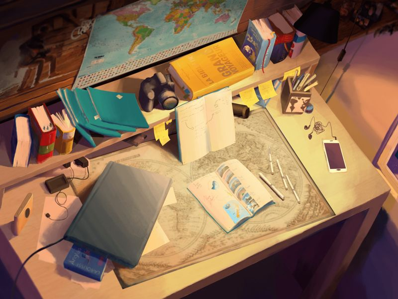 Young traveler's Bedroom