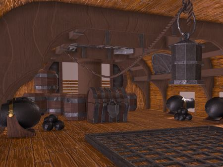 Pirate Ship Interior