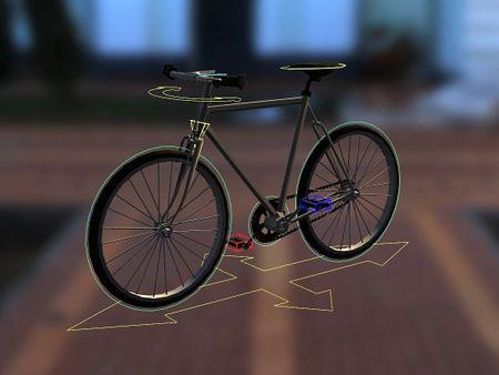 Rigging a bike