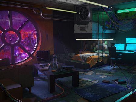 CyberPunk Room