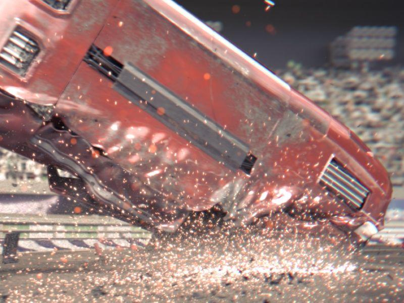Final Lap: Car Crash