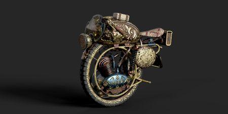 Victorian Monobike