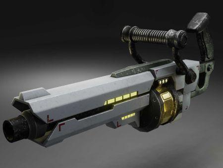 CrossFate Granade Launcher (fanart)