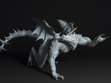 RAM the human dragon.