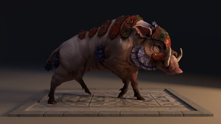 Quadruped Creature Project - Sumerian Hog