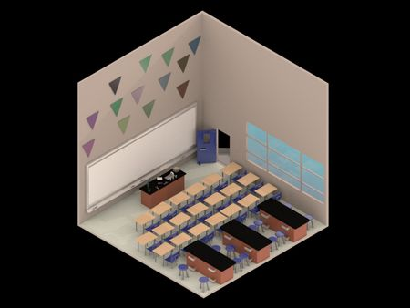 Weekly Drill 34: Isometric Room - Physics Classroom