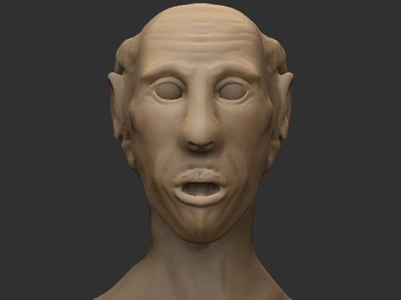 Weekly Sculpt 2: Old Man