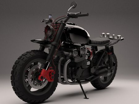 Daryl's Bike from The Walking Dead with an alternate paint job.