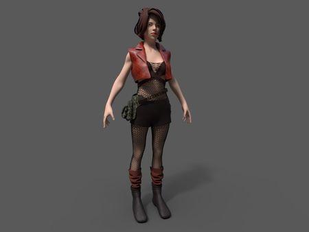 3D Gaming Character