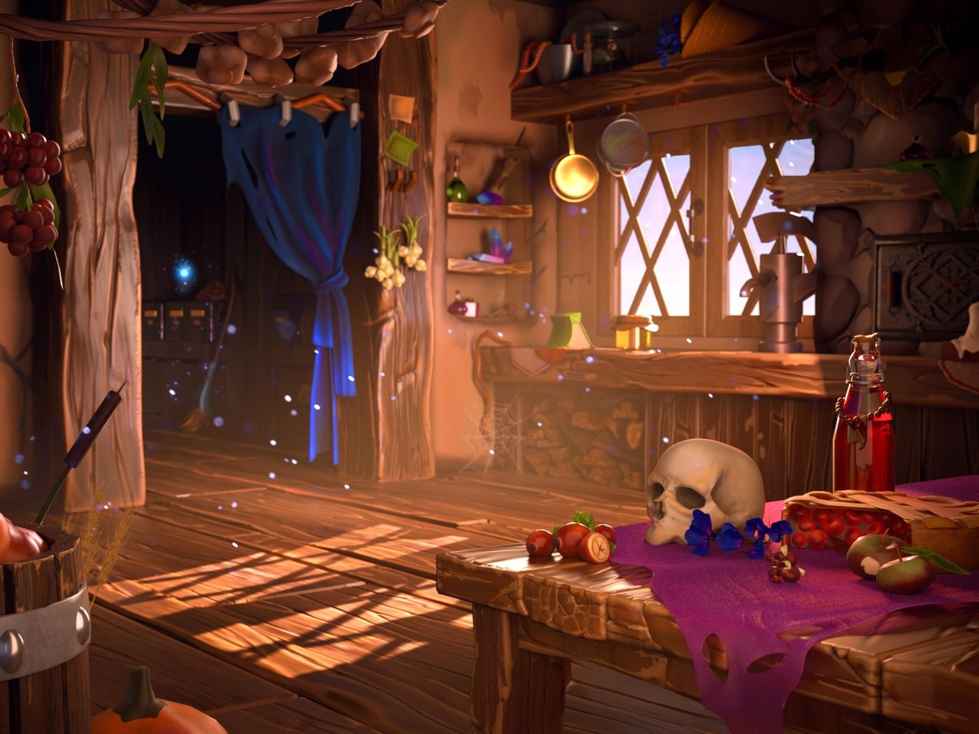Witch Hut Environment