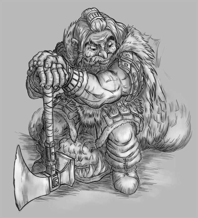 random dwarves sketches