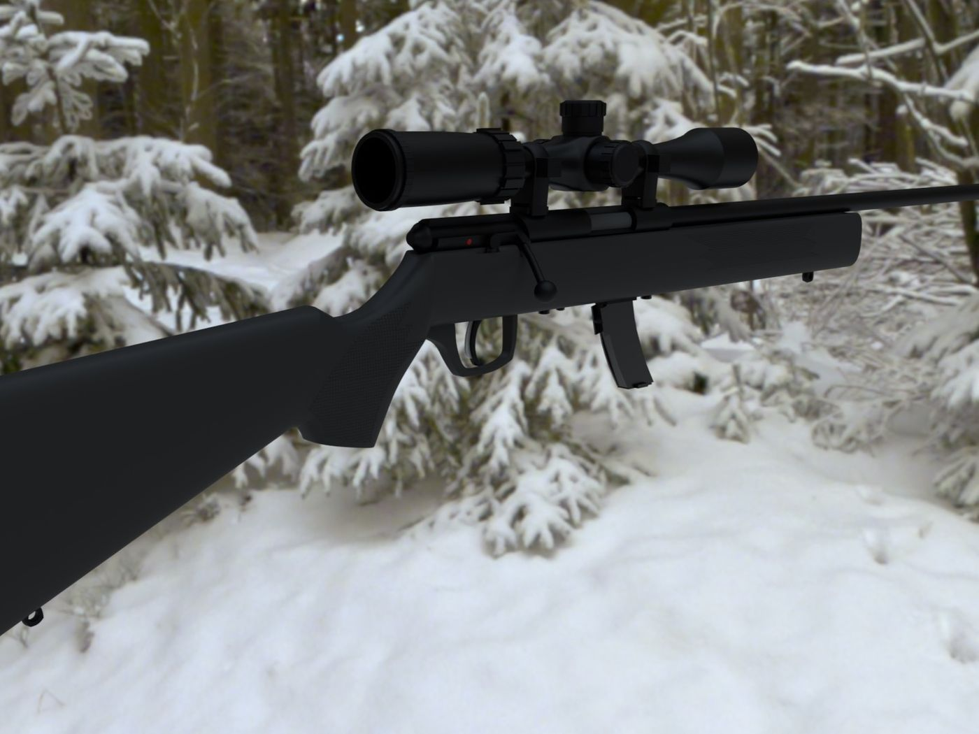 .22 Rifle Model
