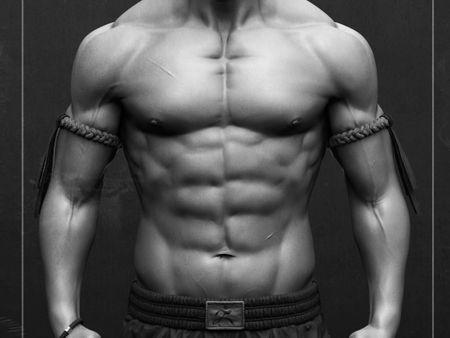 Thaï Boxer - Anatomy Study