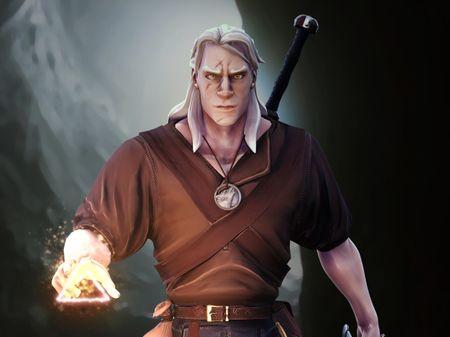 Geralt, The Witcher
