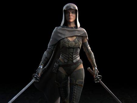 Hitwoman Character