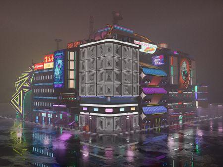 Neo-Kowjuku Block 2 Exterior