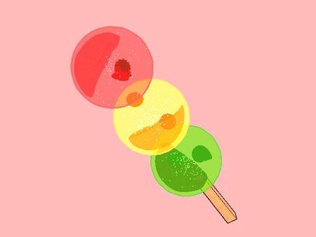 Fruits of Dango