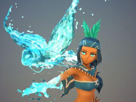 Riverwalker_Game Character Art_Wild West Art Station Challenge