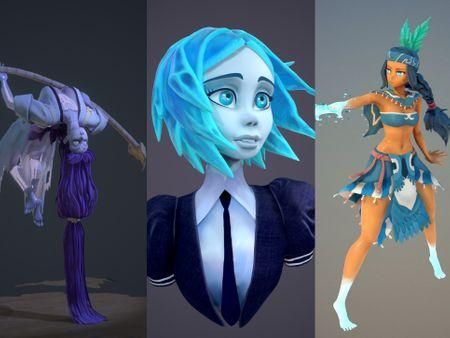 Giorgia Bassini_3D Characters