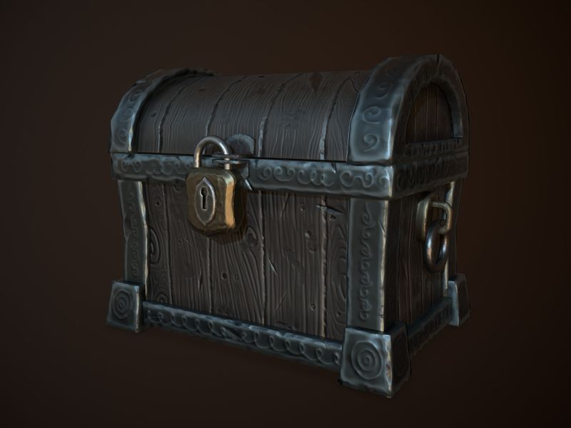 Stylized Pirate Chest