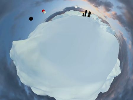 Virtual Reality 2001 Space Odissey - Tiny Planet